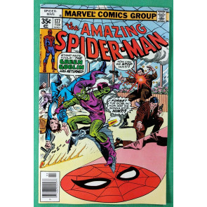 Amazing Spider-Man (1963) #177 NM- (9.2)  Green Goblin story - pt 2 of 5