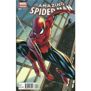 Amazing Spider-Man (2014) #1 VF/NM J. Scott Campbell Cover Variant Connecting