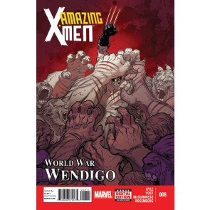 AMAZING X-MEN (2013) #8 VF/NM MARVEL NOW!