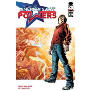 AMERICA'S GOT POWERS #1 OF 6 NM IMAGE COMICS BRYAN HITCH