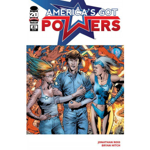 AMERICA'S GOT POWERS #4 OF 6 NM IMAGE COMICS