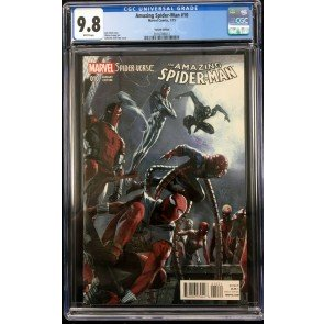 Amazing Spider-Man #10 (#743) CGC 9.8 Dell'Otto 1st app Spider-Punk (2016786012)