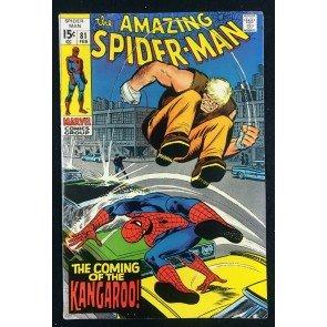 Amazing Spider-Man (1963) #81 FN+ (6.5) 1st appearance Kangaroo