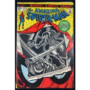 Amazing Spider-Man (1963) #113 VG/FN (5.0) 1st app Hammerhead Doc Oct cover