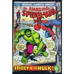 Amazing Spider-Man (1963) #119 VF+ (8.5) classic Hulk battle cover