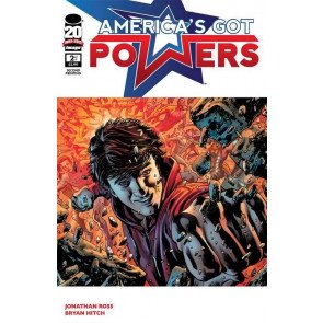 AMERICA'S GOT POWERS #2 OF 6 VF/NM 2ND PRINTING IMAGE COMICS