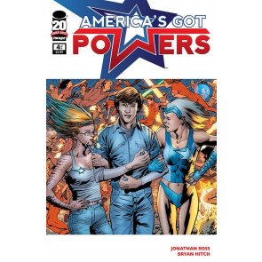 AMERICA'S GOT POWERS #4 OF 6 NM IMAGE COMICS