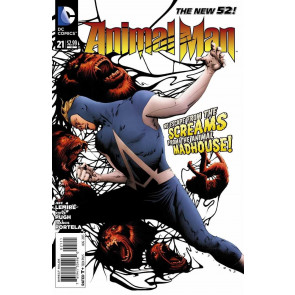 ANIMAL MAN (2011) #21 VF/NM JAE LEE COVER THE NEW 52!