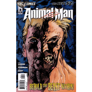 ANIMAL MAN (2011) #4 VF/NM THE NEW 52!