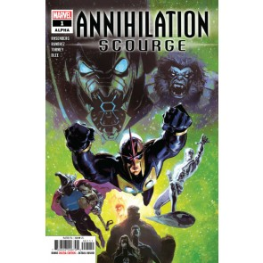 Annihilation: Scourge Alpha (2019) #1 VF/NM Josemaria Casanovas Cover