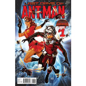 ANT-MAN: LAST DAYS (2015) #1 VF/NM