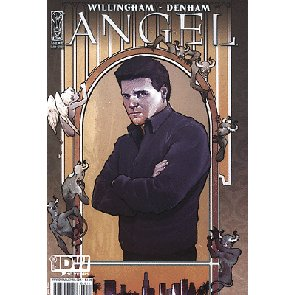 ANGEL #28 NM COVER A IDW 1ST BILL WILLINGHAM STORY