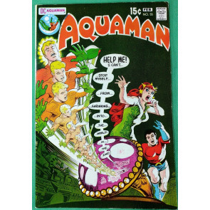 Aquaman (1962) #55 FN/VF (7.0) Mera Cover