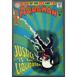 Aquaman (1962) with Aqualad #38 FN+ (6.5)
