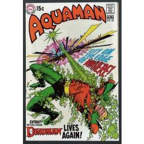 Aquaman (1962) #50 FN+ (6.5) Deadman back up story with Neal Adams art
