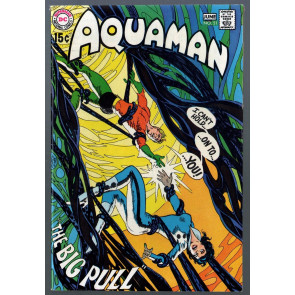 Aquaman (1962) #51VF- (7.5) Deadman back up story with Neal Adams art