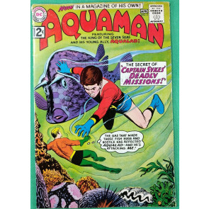 Aquaman (1962) with Aqualad #2 VG+ (4.5)