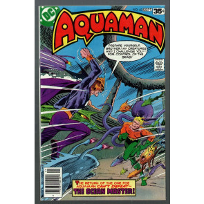 Aquaman (1962) #63 VF+ (8.5) Ocean Master battle cover last issue