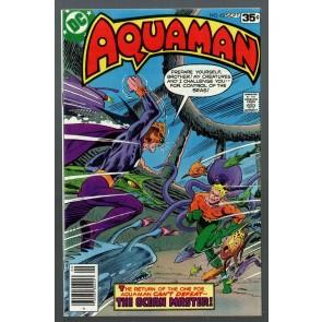 Aquaman (1962) #63 VF+ (8.5) Ocean Master battle cover last issue