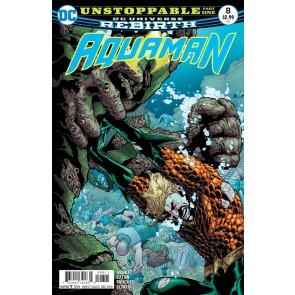 Aquaman (2016) #8 VF/NM Brad Walker Cover DC Universe Rebirth