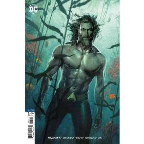 Aquaman (2016) #47 VF/NM Joshua Middleton Variant Cover
