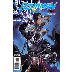 Aquaman (2011) #50 VF/NM Batman v Superman Variant Cover
