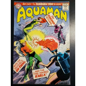 AQUAMAN #24 (1965) F+ 6.5 AQUALAD MERA APPEARANCE NICK CARDY COVER/ART |