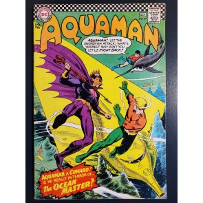 AQUAMAN #29 (1966) FN 6.0 1ST APPEARANCE OF OCEAN MASTER NICK CARDY COVER/ART |
