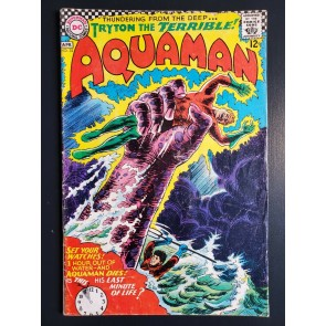 AQUAMAN #32 (1967) VG- (3.5)  NICK CARDY COVER/ART |