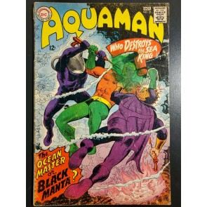 AQUAMAN #35 1967 GD 2.0 1ST APPEARANCE OF BLACK MANTA LOW GRADE AFFORDABLE COPY|