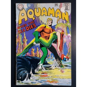 AQUAMAN #37 (1967) G (2.0) MERA COVER 1ST SCAVENGER NICK CARDY COVER/ART |