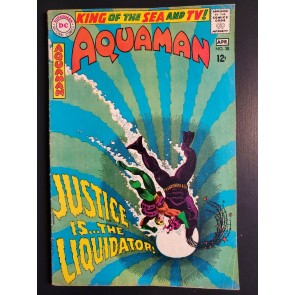 AQUAMAN #38 (1968) VG+ (4.5)  NICK CARDY COVER/ART |