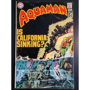 AQUAMAN #53 (1970) G/VG (3.0) NICK CARDY COVER/ART |
