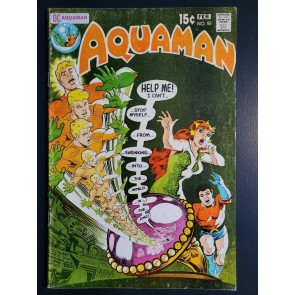 AQUAMAN #55 (1971) VG+ (4.5) NICK CARDY COVER/ART |