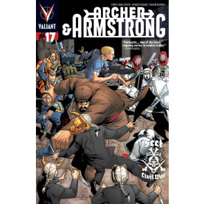 Archer & Armstrong (2013) #17 VF/NM Cover A Valiant