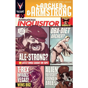ARCHER & ARMSTRONG (2013) #10 VF+ COVER B VALIANT COMICS