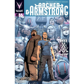 ARCHER & ARMSTRONG (2013) #16 VF/NM COVER A VALIANT COMICS