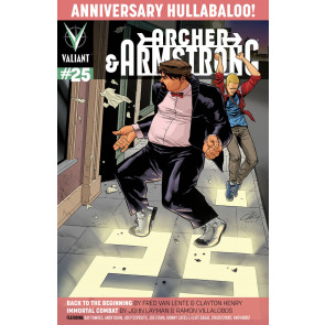 ARCHER & ARMSTRONG (2013) #25 VF/NM COVER A VALIANT COMICS