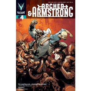 ARCHER & ARMSTRONG (2013) #4 VF COVER A VALIANT COMICS