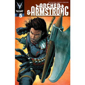 ARCHER & ARMSTRONG (2013) #5 VF COVER A VALIANT COMICS