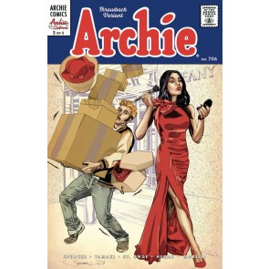 Archie Comics (1941) #706 VF/NM (9.0) Throw back variant Archie & Sabrina pt 2/5
