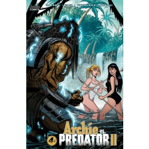 Archie vs. Predator II (2019) #4 of 5 VF/NM Archie Tim Seeley Cover