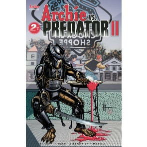 Archie vs. Predator II (2019) #2 of 5 VF/NM Archie Howard Chaykin Cover