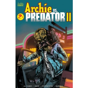 Archie vs. Predator II (2019) #2 of 5 VF/NM Archie Robert Hack Cover