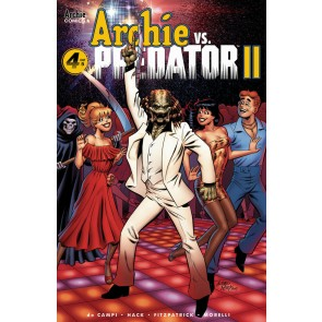 Archie vs. Predator II (2019) #4 of 5 VF/NM Archie Andrew Pepo Cover