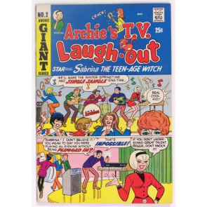 ARCHIE'S TV LAUGH-OUT #2 SABRINA 1969 GIANT FN+