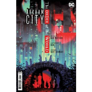 Arkham City: The Order of the World (2021) #1 VF/NM Sam Wolfe Connelly Cover