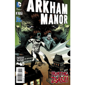 ARKHAM MANOR (2014) #2 FN/VF THE NEW 52! BATMAN