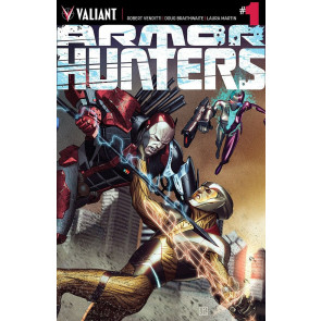 ARMOR HUNTERS (2014) #1 VF/NM COVER A VALIANT COMICS