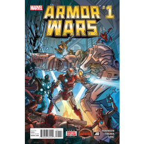 ARMOR WARS (2015) #1 VF/NM SECRET WARS